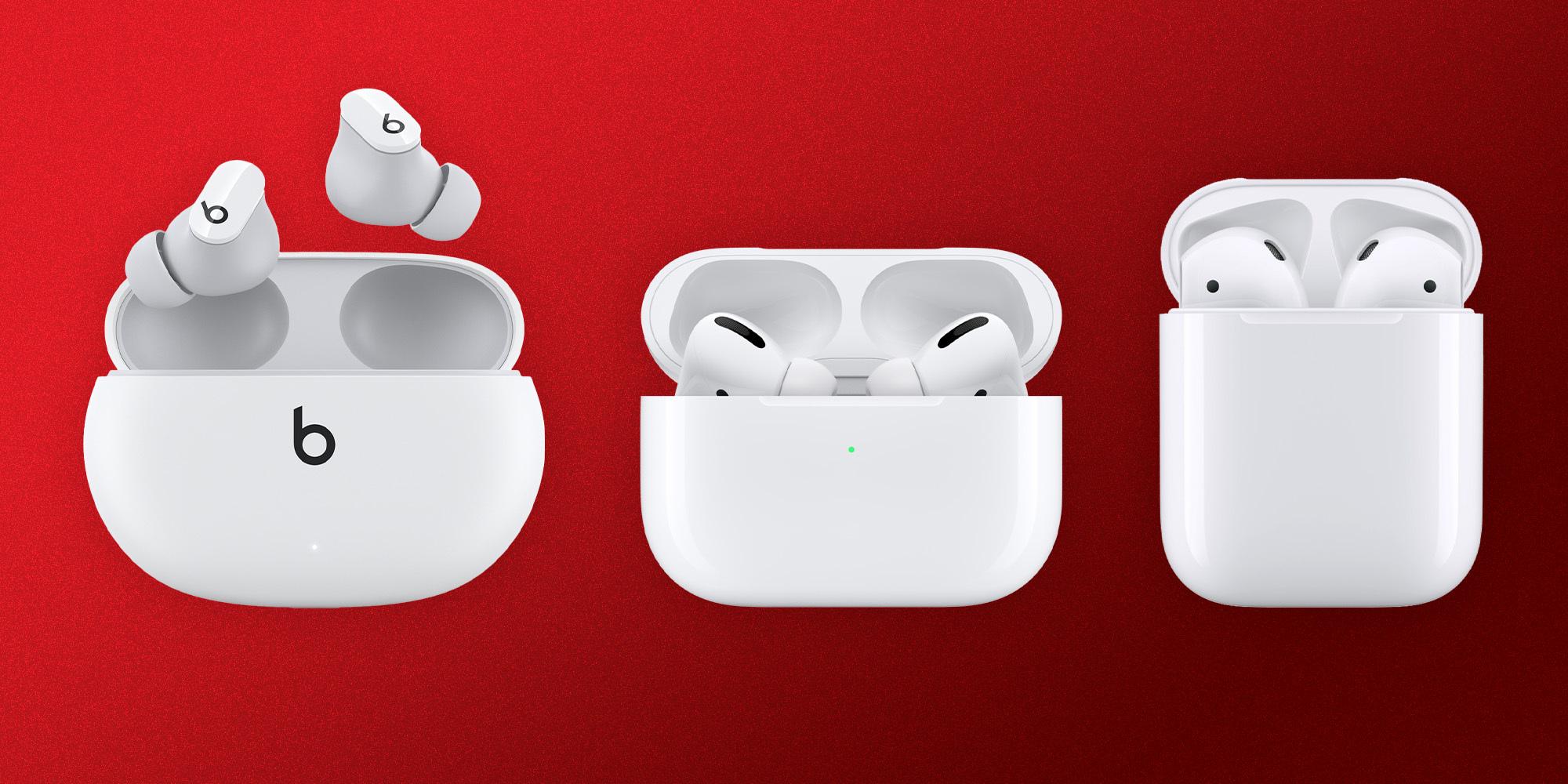 So sánh bộ 3 tai nghe true wireless của Apple