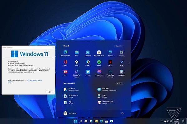 Rò rỉ Windows 11: Thiết kế hoàn toàn mới, Start Menu nằm trung tâm, và hơn thế nữa!