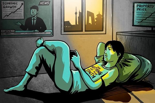 Cuộc sống áp lực, nhiều thanh niên Trung Quốc chọn cách buông xuôi