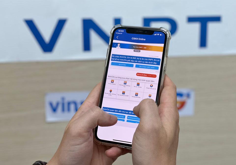 VNPT ra mắt trợ lý ảo AMI, hỗ trợ khách hàng 24/7