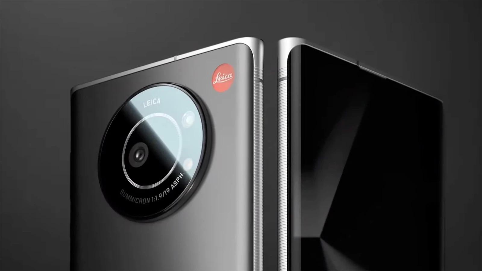 Leica gia nhập thị trường smartphone với Leitz Phone 1