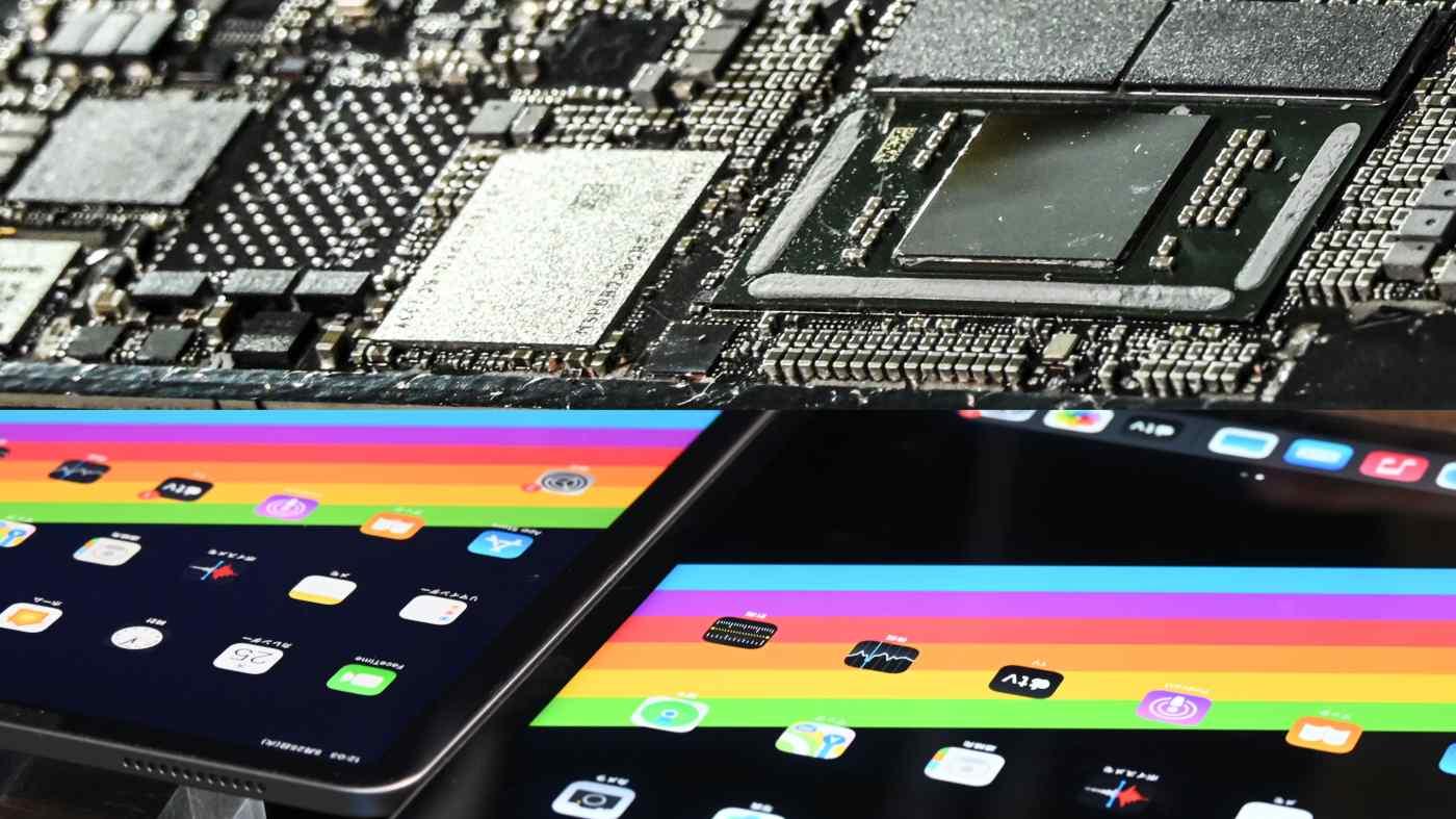 Mổ bụng iPad Pro mới thấy số lượng linh kiện Đài Loan bên trong đã gia tăng đáng kể