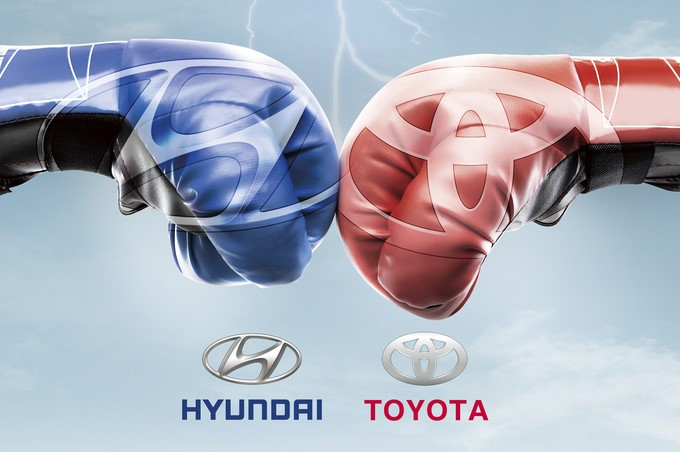 Hyundai vượt mặt Toyota ở hàng loạt thị trường