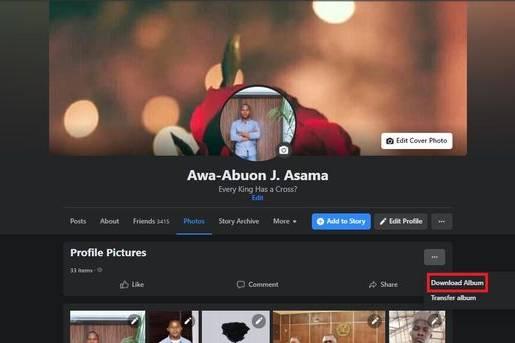 Cách tải ảnh và video trên Facebook về máy tính, điện thoại cá nhân
