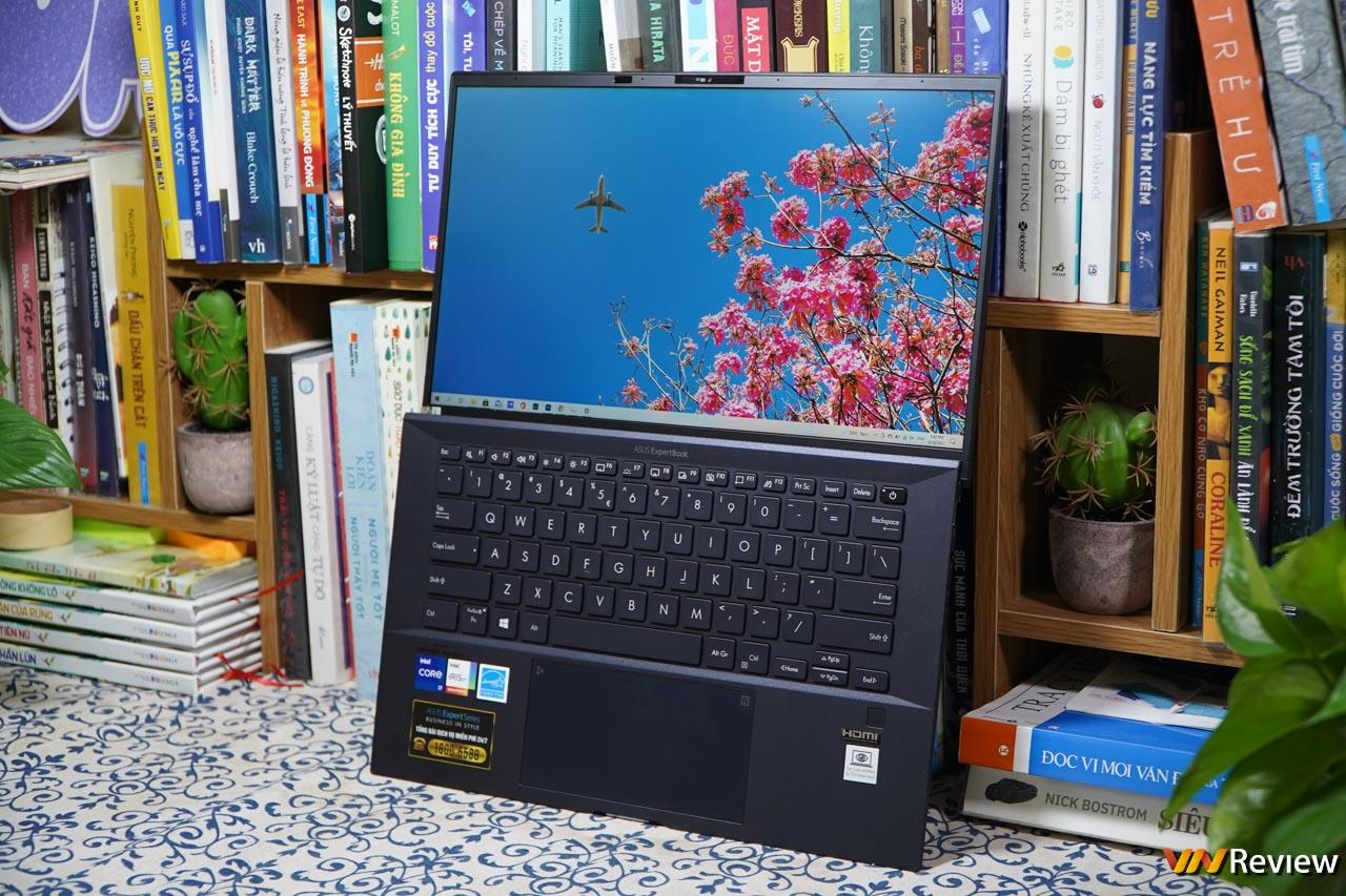 Trên tay Asus ExpertBook B9 2021: laptop doanh nhân mỏng nhẹ với nhiều tính năng độc lạ