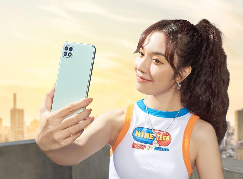 Galaxy A22 ra mắt Việt Nam: có bản 4G và 5G, giá từ 5,89 triệu đồng