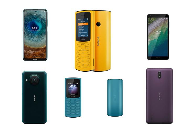 """HMD tung liền lúc 4 điện thoại Nokia mới tại Việt Nam: từ smartphone 5G phổ thông đến """"cục gạch"""" 4G"""