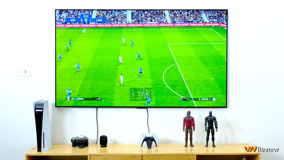 """Thử trò chơi Play trên LG G1: Hóa ra TV OLED Evo mới là màn hình trò chơi """"xịn sò"""" nhất - VnReview 2020 4"""