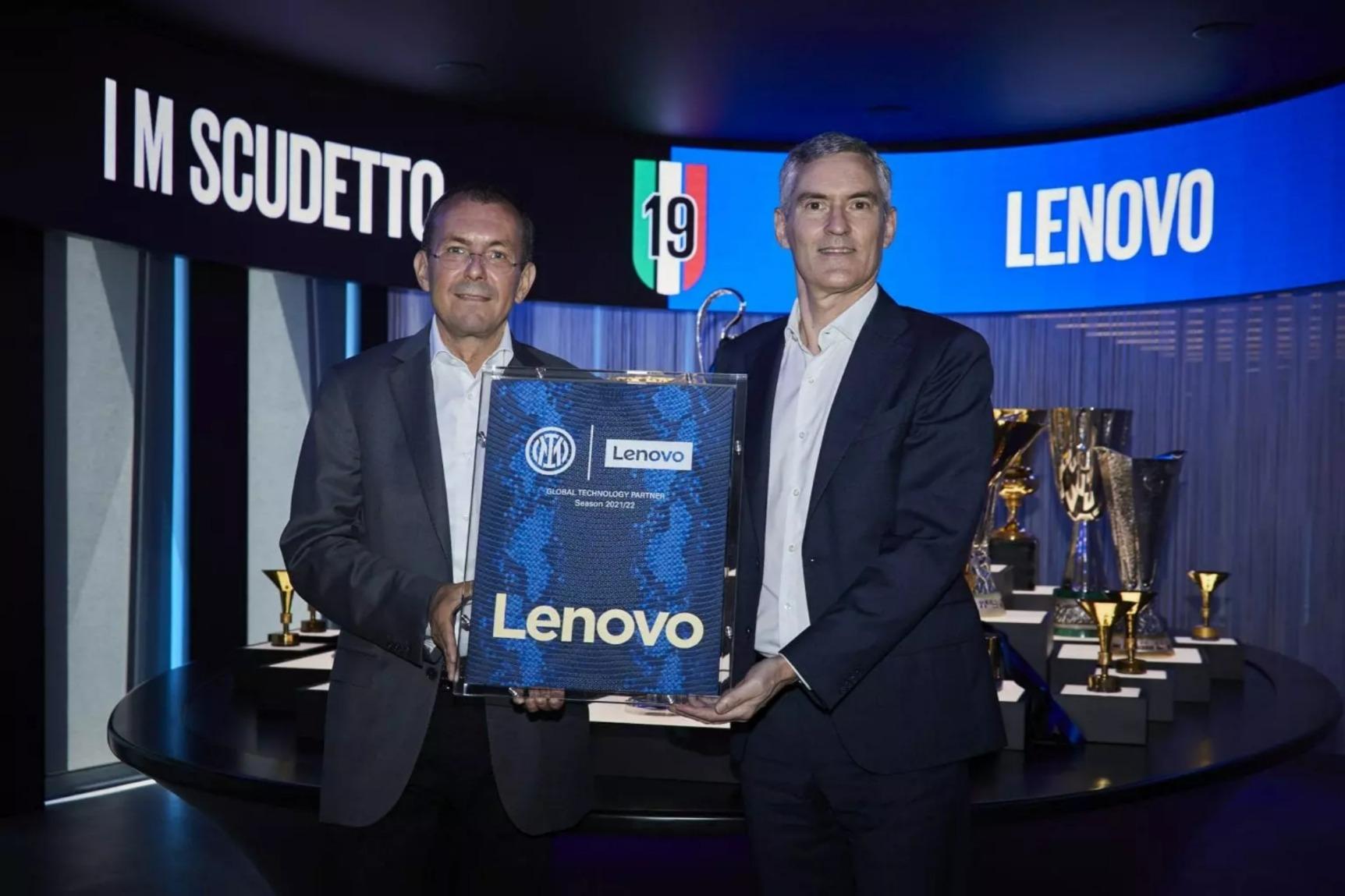 Lenovo tiếp tục là đối tác công nghệ toàn cầu của CLB Inter Milan