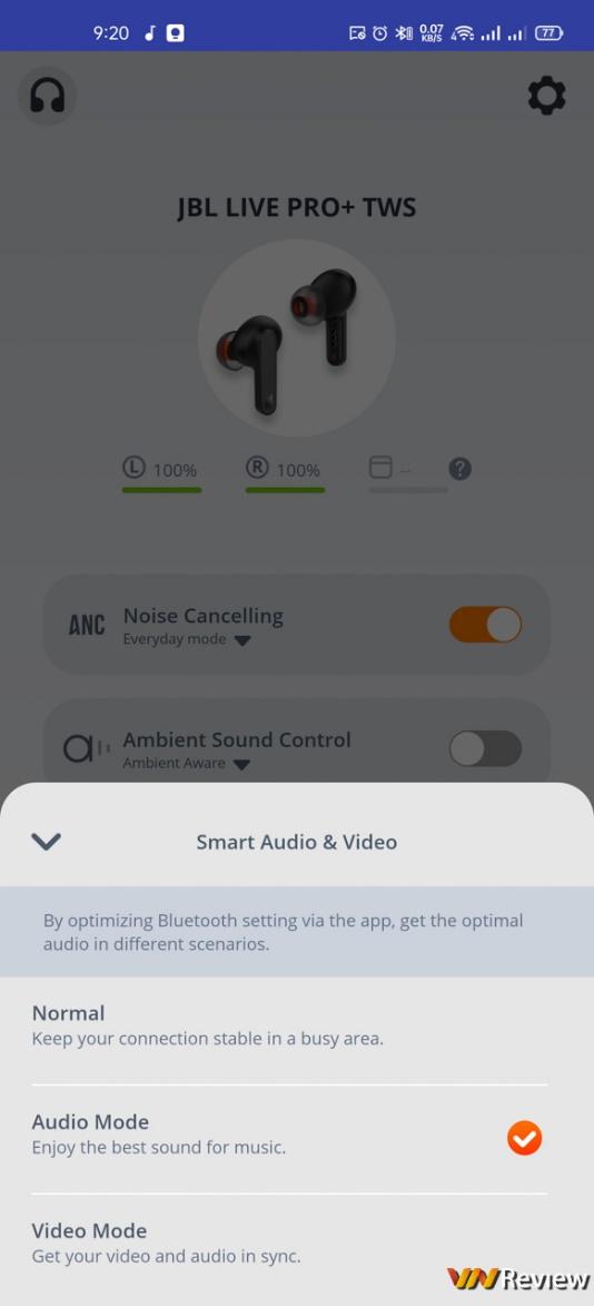 Đánh giá JBL Live Pro+: tân binh true wireless ANC đáng gờm, thách thức các ông lớn sừng sỏ
