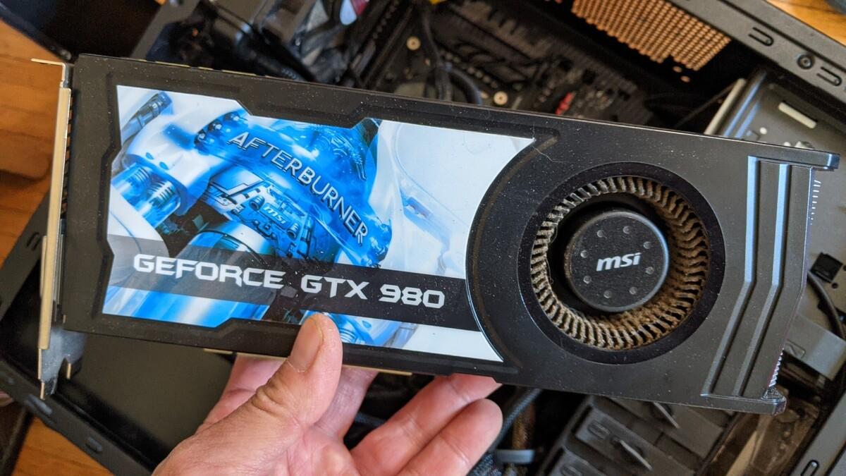 Tìm thấy Intel Core i7-5930K cùng card đồ họa GeForce GTX 1080 ACS trong bãi rác