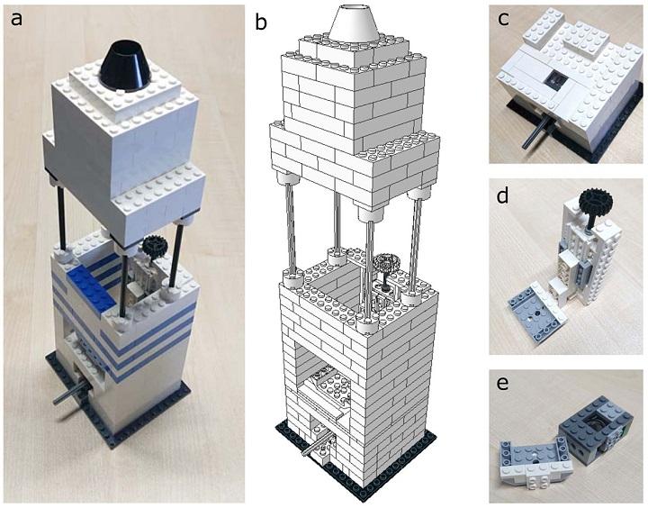 vKính hiển vi giá siêu rẻ chỉ từ mảnh ghép Lego và điện thoại iPhone 5