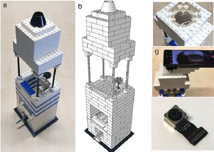 Chế tạo kính hiển vi siêu rẻ chỉ bằng LEGO và iPhone 5