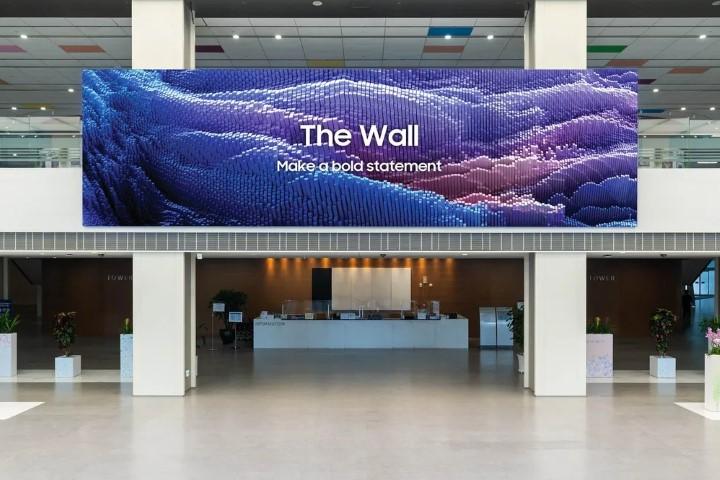 Samsung ra mắt màn hình microLED khổng lồ 1.000 inch