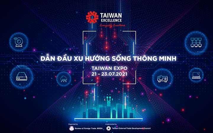 Taiwan Expo 2021 năm nay diễn ra online trong 3 ngày