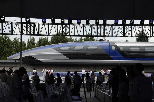 Trung Quốc sắp vận hành tàu đệm từ siêu tốc, vận tốc 600km/h