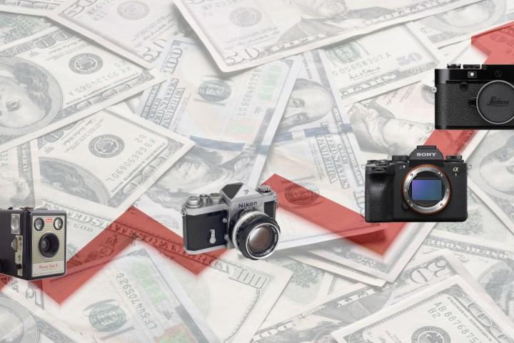 Tại sao giá máy ảnh ngày càng leo thang?