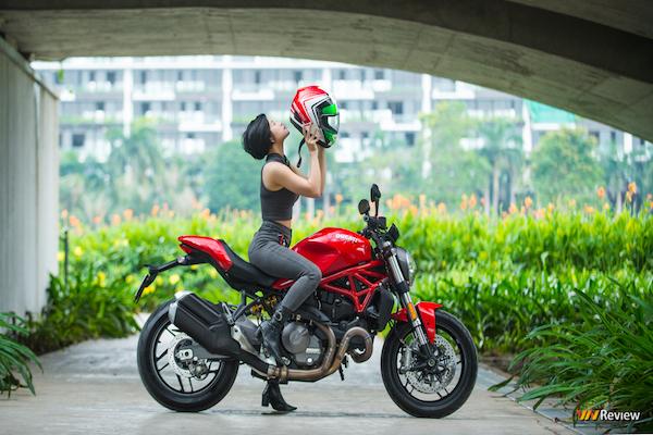 Trải nghiệm nhanh Ducati 821: kiểu dáng thể thao, lái bốc nhưng tiếng pô chưa đủ phấn khích