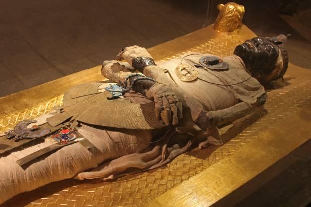 Bí mật đằng sau quá trình ướp xác của người Ai Cập cổ đại