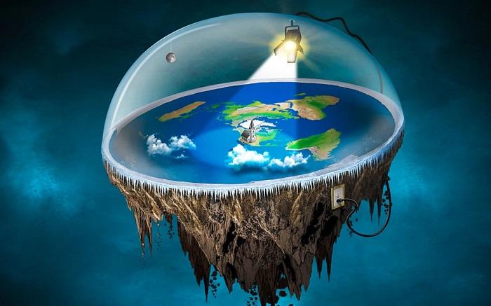 Điều gì sẽ xảy ra nếu chúng ta sống trên một Trái đất phẳng?