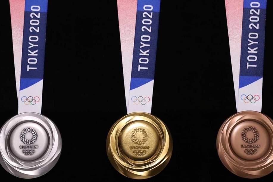Câu chuyện kỳ lạ quanh chiếc huy chương của Olympic Tokyo 2020