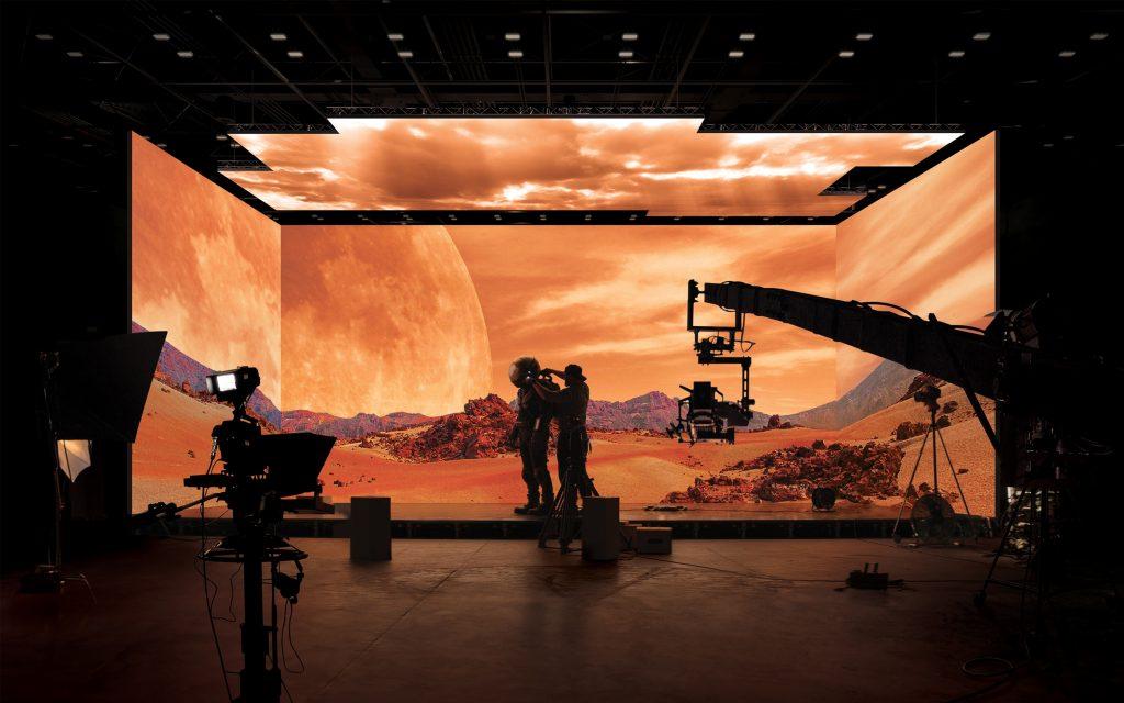 Samsung xây phim trường ảo đầu tiên sử dụng màn hình The Wall