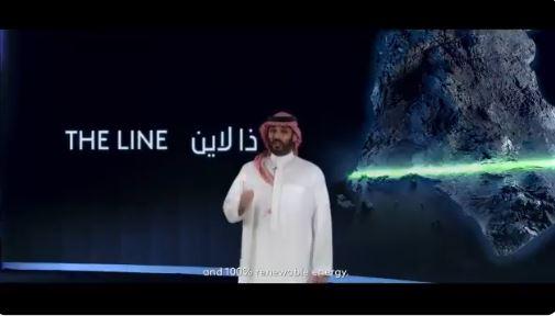 Ả Rập Xê Út đang xây dựng toàn bộ một thành phố trên một đường thẳng, vì một số lý do