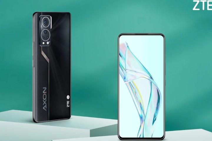 ZTE Axon 30 ra mắt: camera dưới màn hình cải tiến, Snapdragon 870G, màn hình AMOLED 120Hz 6,9 inch