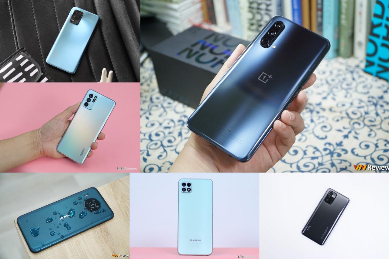 6 điện thoại 5G đáng chú ý mới được bán tại Việt Nam