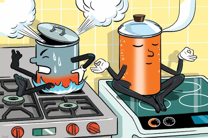 Vì sao bếp từ an toàn và tiết kiệm thời gian hơn bếp ga và bếp hồng ngoại?