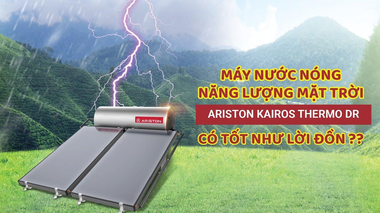 Review máy nước nóng năng lượng mặt trời Ariston: Làm nóng vượt trội, độ bền nhân đôi