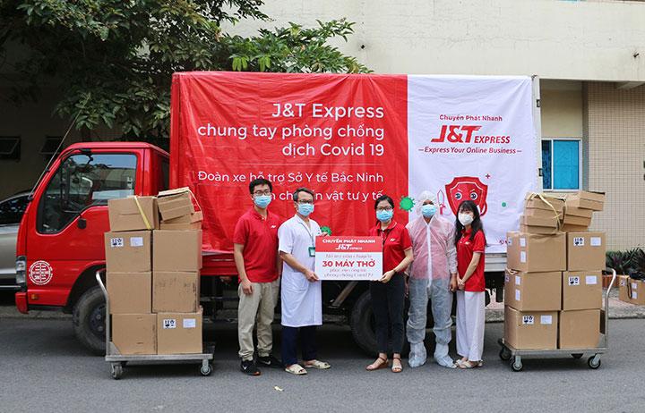 J&T Express lập quỹ hỗ trợ người lao động khó khăn do Covid-19