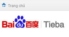 Mạng xã hội Baidu tiếng Việt cấm lập box về Trường Sa