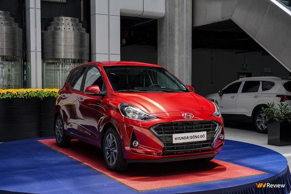 Cận cảnh Hyundai Grand i10 phiên bản 1.2AT, giá 435 triệu đồng