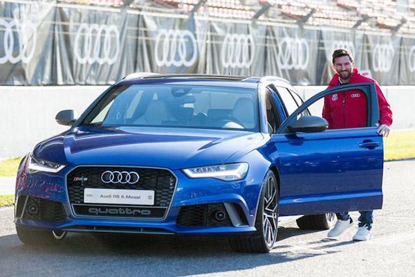 Những mẫu xe của Lionel Messi đang sở hữu