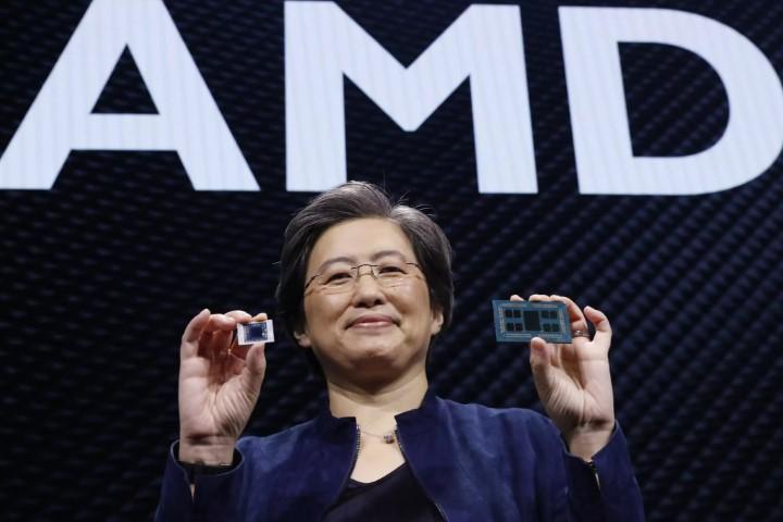 Thị phần chip x86 của AMD lên cao nhất lịch sử