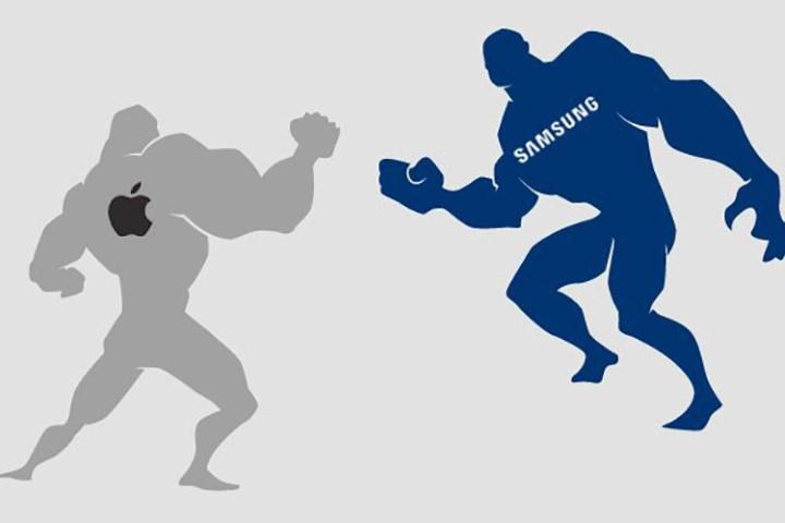 Apple và Samsung càng cạnh tranh ác liệt, chúng ta càng được lợi