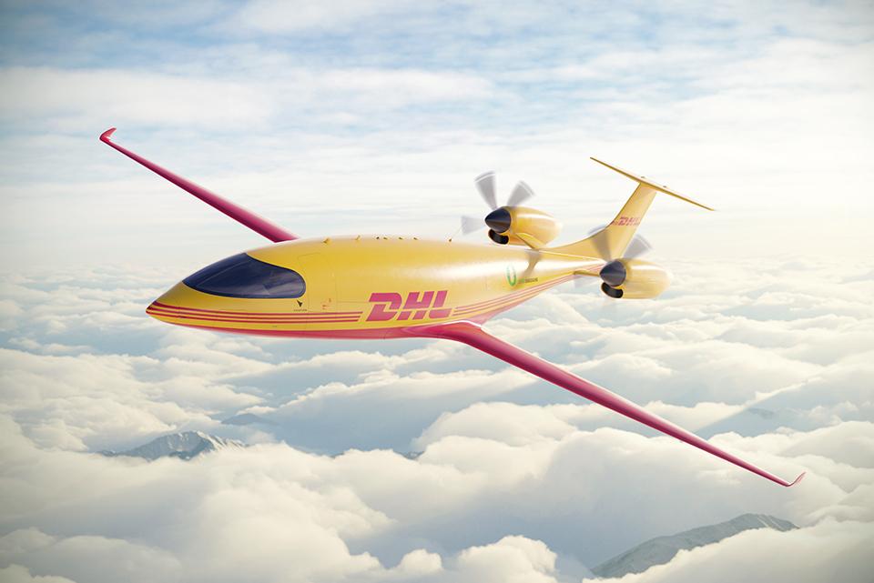 DHL Express đặt mua 12 máy bay điện đầu tiên để ship hàng