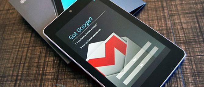 Google Nexus 7 có vấn đề về chất lượng?