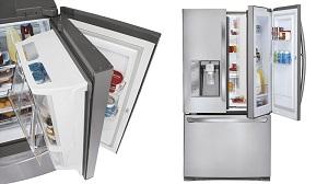 """Tủ lạnh LG """"cửa trong cửa"""", """"siêu dung tích"""""""
