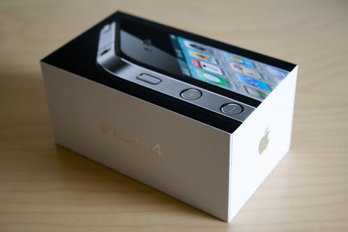 Hình ảnh đập hộp iPhone 4S