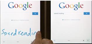 Google Seach thêm tính năng nhập từ khóa bằng ngón tay hoặc bút