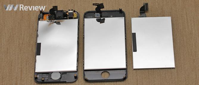 """""""Mổ"""" Hkphone 4S-Retina Pro: Ước giá, thêm thông tin về màn hình"""