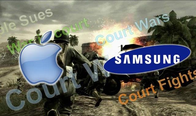 Samsung và Apple đối đầu tại tòa án
