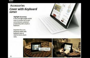 Máy tính bảng Sony Xperia Tablet giá 450 USD?