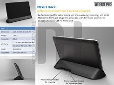 Phụ kiện Nexus 7 chính thức sắp có bán