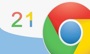 Chrome 21: ve vãn người dùng Retina, vá 26 lỗi