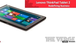 ThinkPad Windows 8 toan giành khách doanh nhân của iPad
