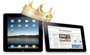 iPad chiếm 68% thị phần máy tính bảng