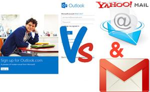 Outlook.com có là mối đe dọa cho Gmail và Yahoo Mail?